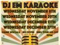 DJ Em Karaoke