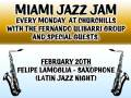 Miami Jazz Jam with the Fernando Ulibarri Group ft Nicole Yarling! Outback on the patio it
