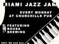 Miami Jazz Jam with the Fernando Ulibarri Group & on the patio it