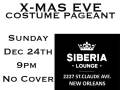 Christmas Eve costume pageant