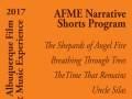 AFME Narrative Shorts Program
