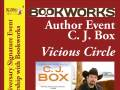Author Event -  C.J. Box Vicious Circle