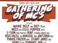 Gathering of MC's - Fall Edition