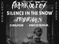 Alter de Fey, Silence in the Snow, Petheaven, Cruor Incendia