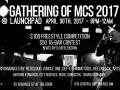 Gathering Of MCs 2017: Redcloud * Jungle One * Def-I * Shining Soul * Hellnback * Artson * Antoine Edwards * City Natives * Redd * Shibastik * Thana Redhawk