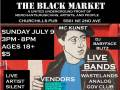The Black Market with WASTELANDS, ANALOG, GOV GLUB (JACKSONVILLE), CLOUD SOLO, THE LONE WOLF, OVER 20  VENDORS, FOOD TRUCKS, and MORE!