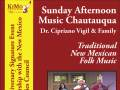 Dr. Cipriano Vigil and Family perform: New Mexico Folk Music