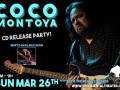 """CoCo Montoya Cd Release Party...(for """"Hard Truth"""")"""