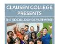 Clausen College presents the Sociology Department!