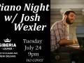 Piano Night: Josh Wexler
