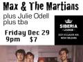 Max and The Martians, Julie Odell, tba