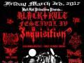 Black Kvlt Festival IV  - Inquisition, Crowhurst, Kult ov Azazel, Nocturnus A.D, Faethom, Koroidia, FIN, Reapermanser, Maedusa, L.O.R.E., & Luciferian Insectus