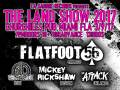 The Land Show 2017 · Salty Dog Cruise Pre-Party with Flatfoot 56, Mickey Rickshaw, West Lindy, The Attack, Spred The Dub, The GAZMS, The No Name Ska Band, Unity Rise, Dori Cameron, Dylan Walshe , Osso Buko, DJ Rudeboi Shuffle