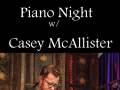 Piano Night: Casey McAllister