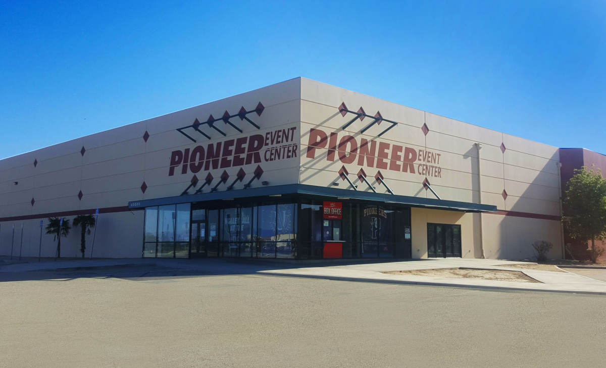 Pioneer Event Center Voted AV