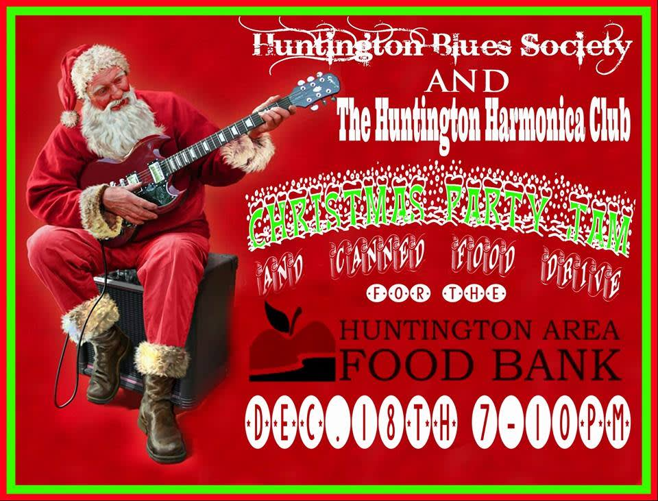 VClub Live - Huntington Blues Society / Huntington Harmonica
