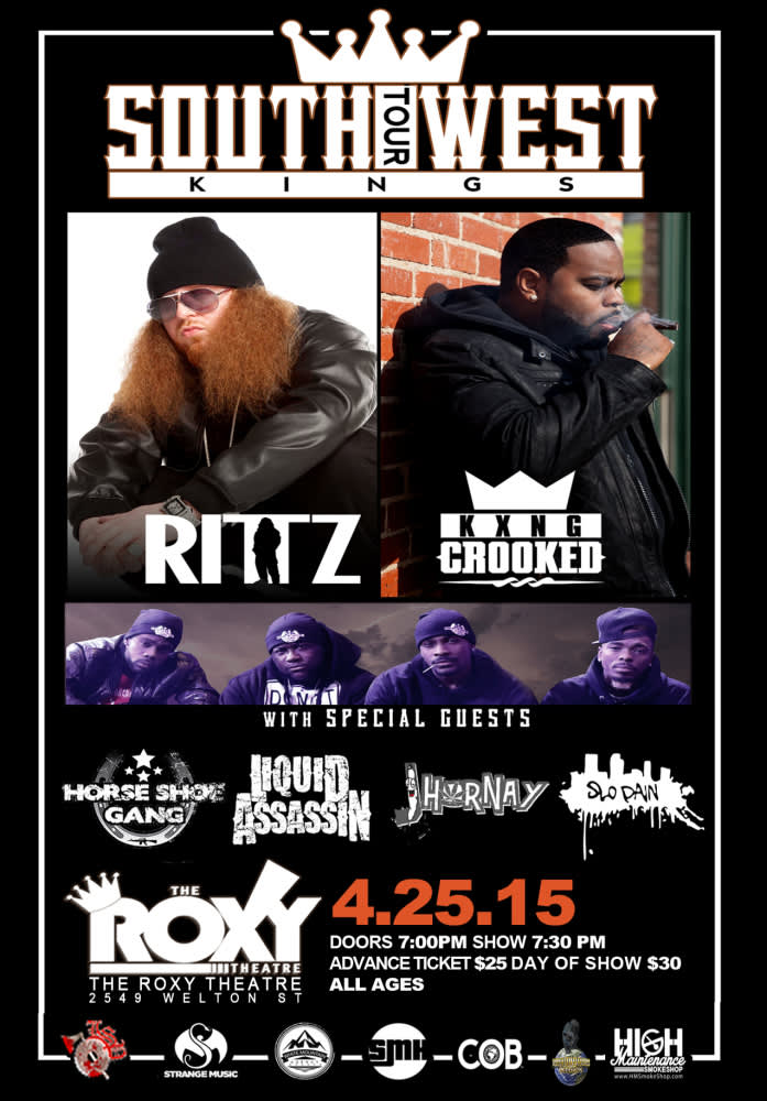 Rittz and Crooked I wsg Horse Shoe Gang, J Hornay, Liquid Assassin, and Slo  Pain