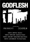 Godflesh  W/ Prurient And Nails