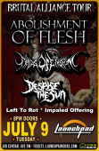 Abolishment Of Flesh * Fields Of Elysium * Despise The Sun * Left To Rot * Impaled Offering