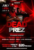 Dead Prez Live @ Red Room Lounge