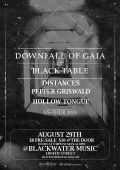 Downfall Of Gaia, Black Table, Distances, Pepper Griswald, Hollow Tongue