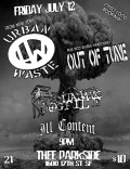 Urban Waste, Out Of Tune, Guantanamo Dogpile, Ill Content
