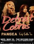 The Detroit Cobras * Pangea * Katy Guillen Trio