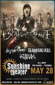 Escape The Fate * The Color Morale * Glamour Of The Kill * As Thick As Thieves