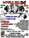 Punk It Out - Pin It Up, Public Modeling Event And Show