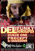 Special Under 21 Only Show Del The Funky Homosapien