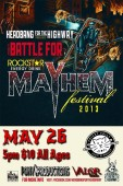 Battle For Mayhem Festival 2013