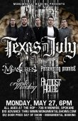 Texas In July, Measures, A Persevering Promise, Almost Home, A Cryptic Ending