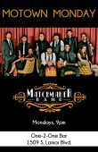 The Matchmaker Band/motown Mondays 9pm