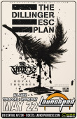 The Dillinger Escape Plan * The Faceless * Royal Thunder