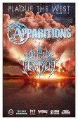 """plaque The West Tour"": Apparitions, Mouth Of The Serpent"