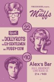 The Muffs, The Dollyrots, The Ex- Gentlemen, & Pussy Cow