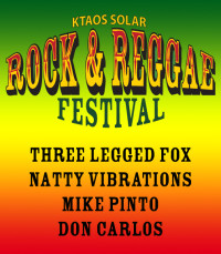 KTAOS Solar Rock &amp; Reggae Festival