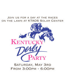 Kentucky Derby in the Mountains