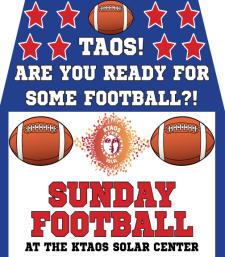 Sunday Football!