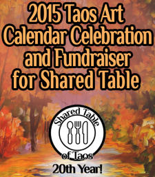 Art Calendar Celebration and Fundraiser for Shared Table