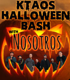 KTAOS Halloween Bash with Nosotros