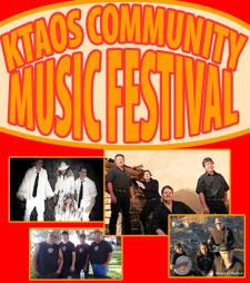KTAOS Community Music Festival