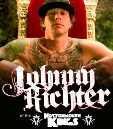 Johnny Richter of the Kottonmouth Kings