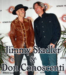 Jimmy Stadler and Don Conoscenti