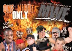 910 Live in conjunction with MWF presents! MICRO WRESTLING!