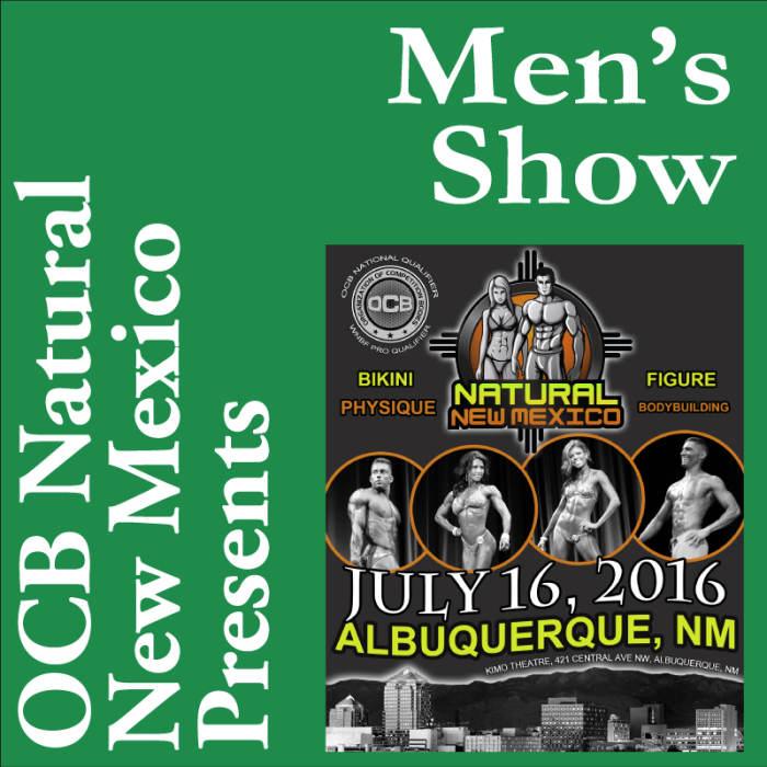 """OCB Natural New Mexico 11:00am """"Men"""