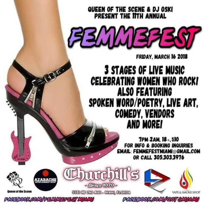11th Annual Femme Fest