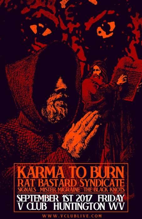 Karma to Burn / Rat Bastard Syndicate / Signals / The Black Knots / RCR