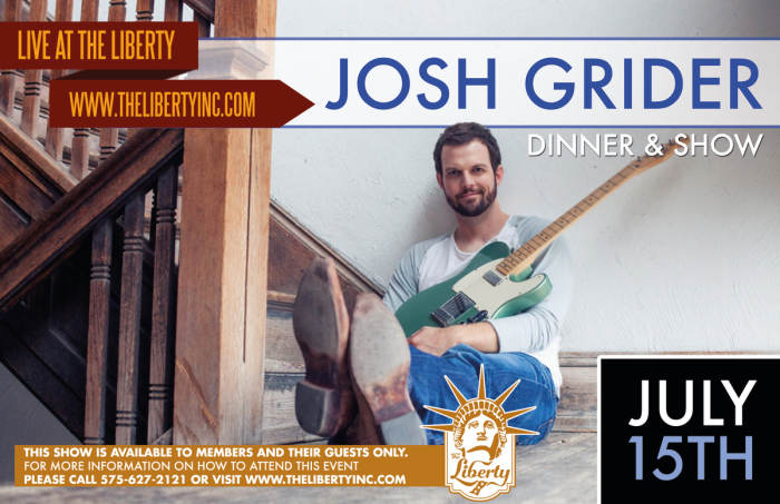 Josh Grider Acoustic - Dinner & Show