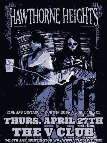 Hawthorne Heights / Time and Distance / Down in Round Three / Reset